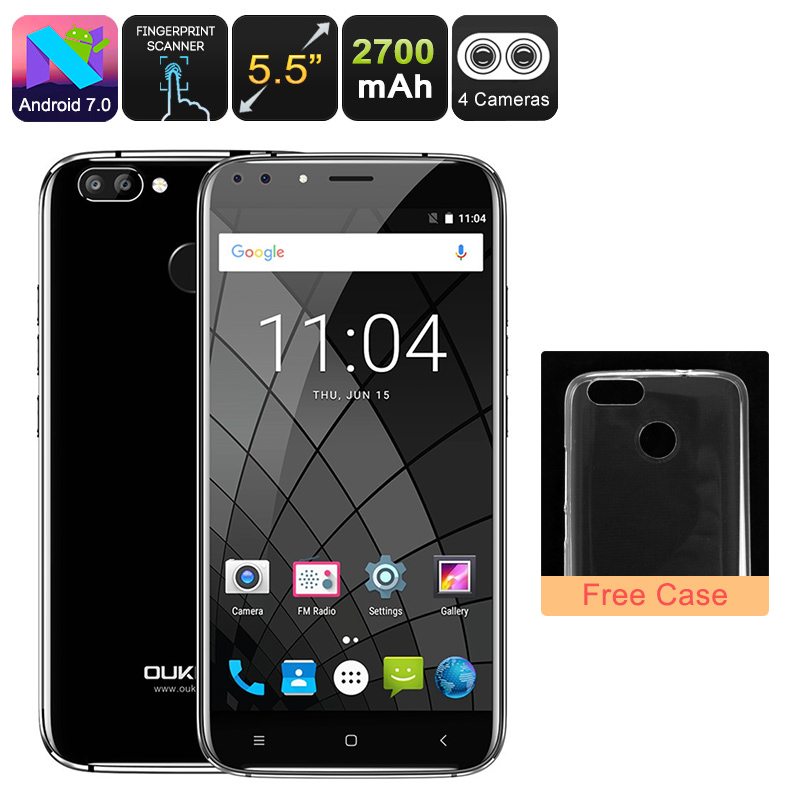 Oukitel U22 Android Phone (Black)