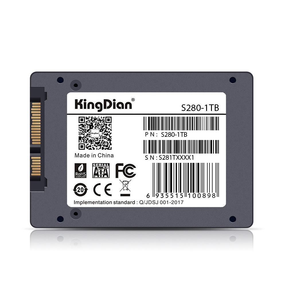 KingDian SSD SATA3 2.5 inch Hard Drive Disk HD HDD 1TB 16GB 32GB 60GB 120GB 240GB 480GB