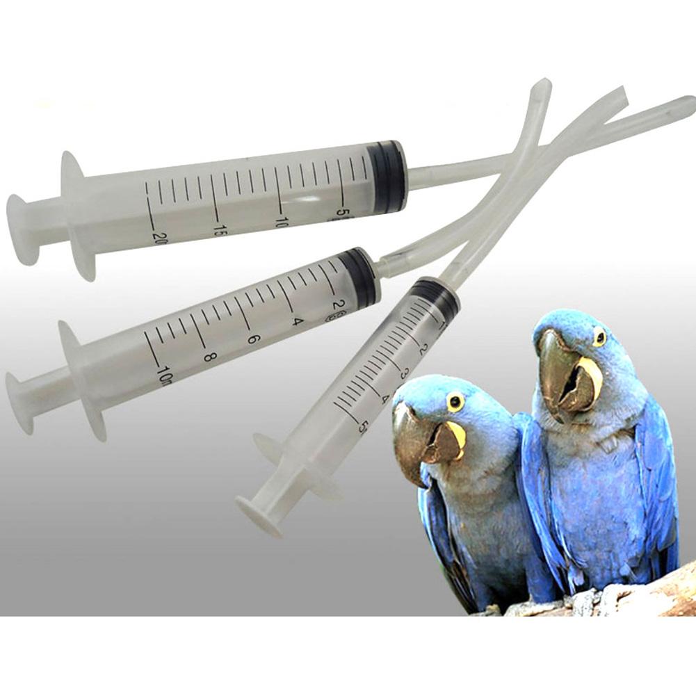 Parrot Feeding Syringe Feeder Water Milk Feeder for Baby Birds 5ml/10ml/20ml 20ml