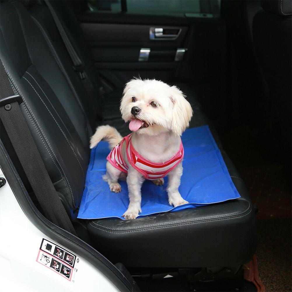 Pet Cooling Mat Pad Gel Cooler for Dog Bed Car Seat Summer Nest Sleeeping