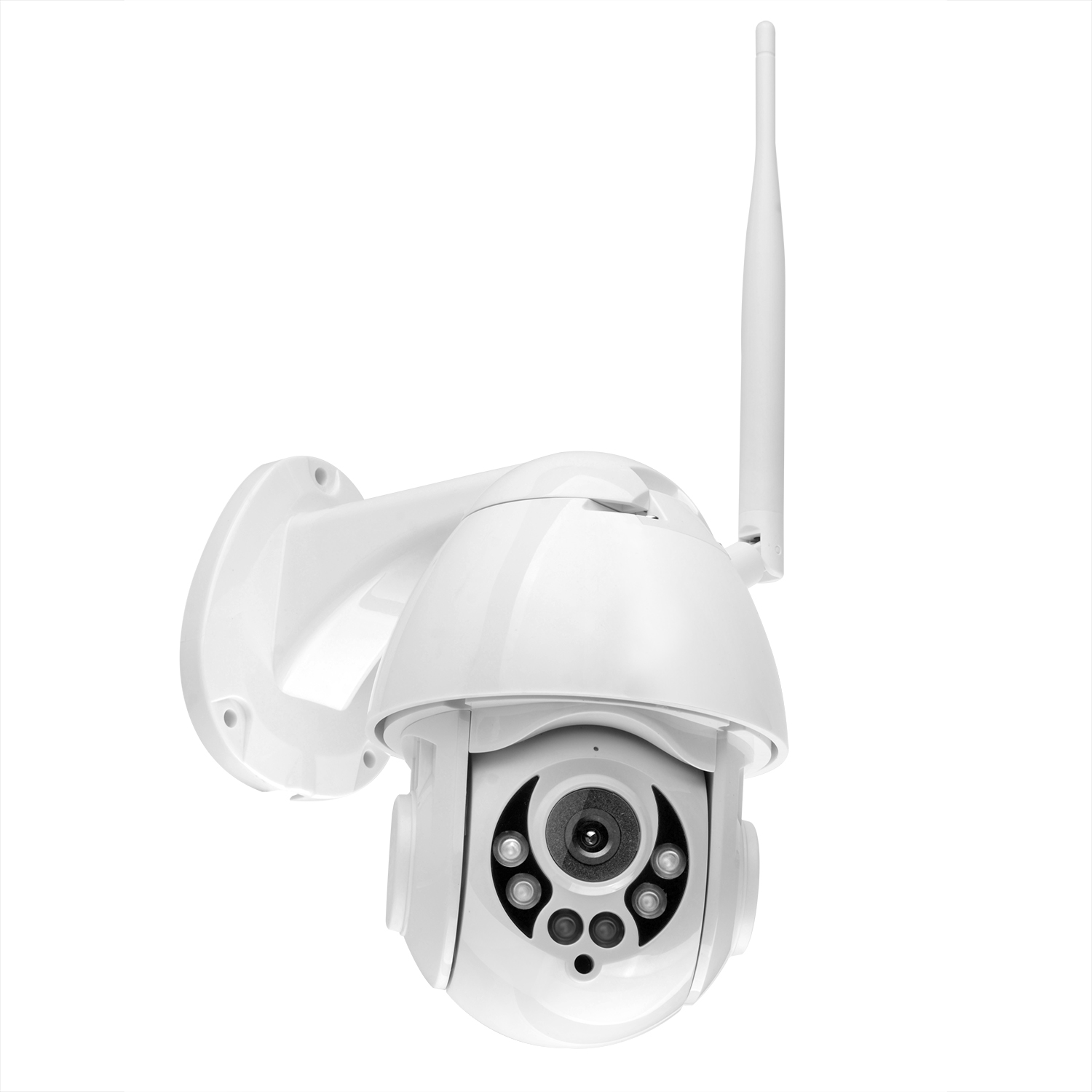Wanscam K38D 1080P WiFi PTZ IP Camera Face Detect Auto Tracking 4X Zoom Two-way Audio P2P CCTV Security Outdoor Camera UK plug