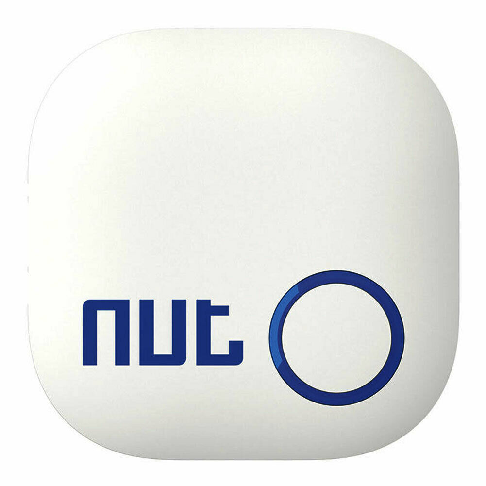NUT2 Smart Finder Bluetooth Wireless Tracker Anti-lost Alarm for Mobile Phone Pet Key White
