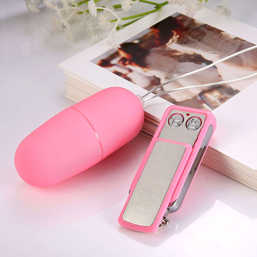 Female Mini Vibrator 20 Speeds Car Key Wireless Remote Controlled Jump Sex Eggs Adult Sex Toys for Women Pink