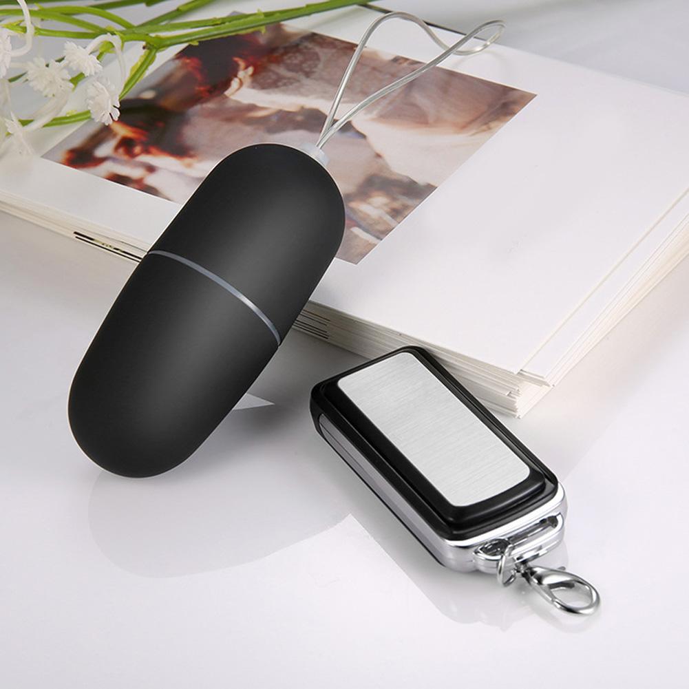 Female Mini Vibrator 20 Speeds Car Key Wireless Remote Controlled Jump Sex Eggs Adult Sex Toys for Women black