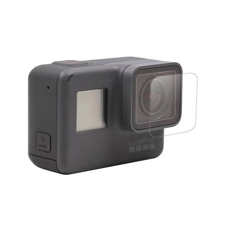 Tempered Film for Gopro Hero 7 6 5 Protector Tempered Screen for Go Pro Hero 7 6 5 Black Action Camera Lens Tempered Film