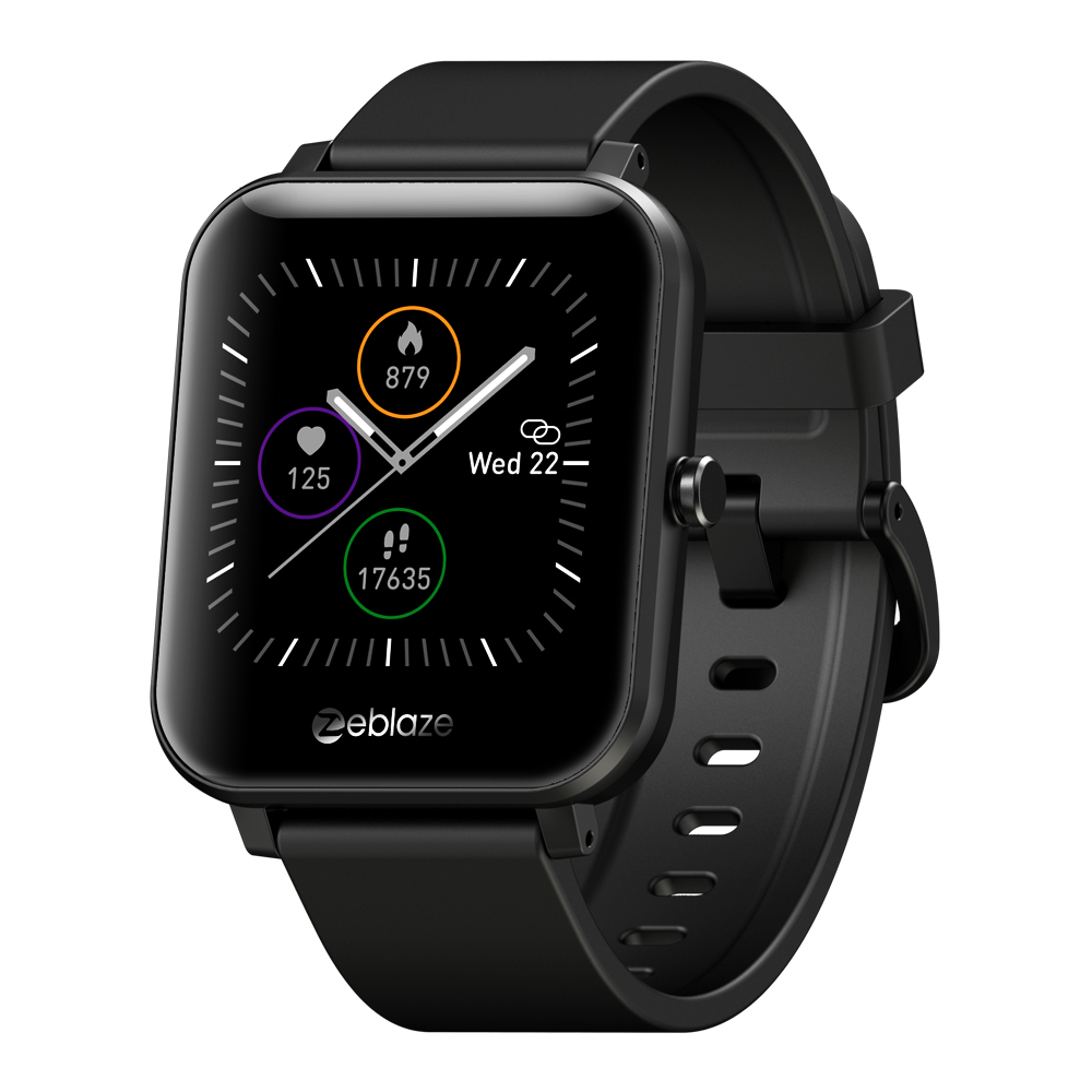 Smart Watch  Blood  Pressure  Blood  Oxygen  Heart  Rate  Monitoring  Music  Remote  Control  Touch  Screen   Smart  Watch black