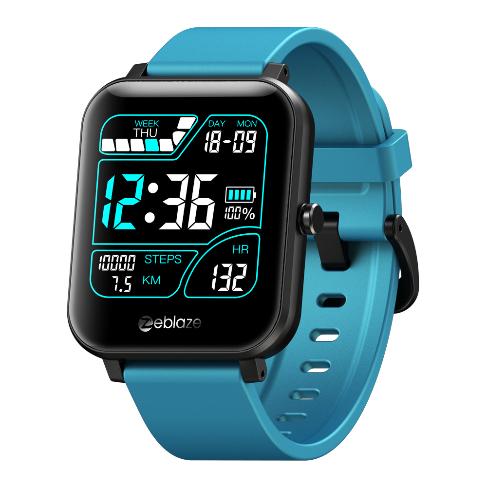 Smart Watch  Blood  Pressure  Blood  Oxygen  Heart  Rate  Monitoring  Music  Remote  Control  Touch  Screen   Smart  Watch blue