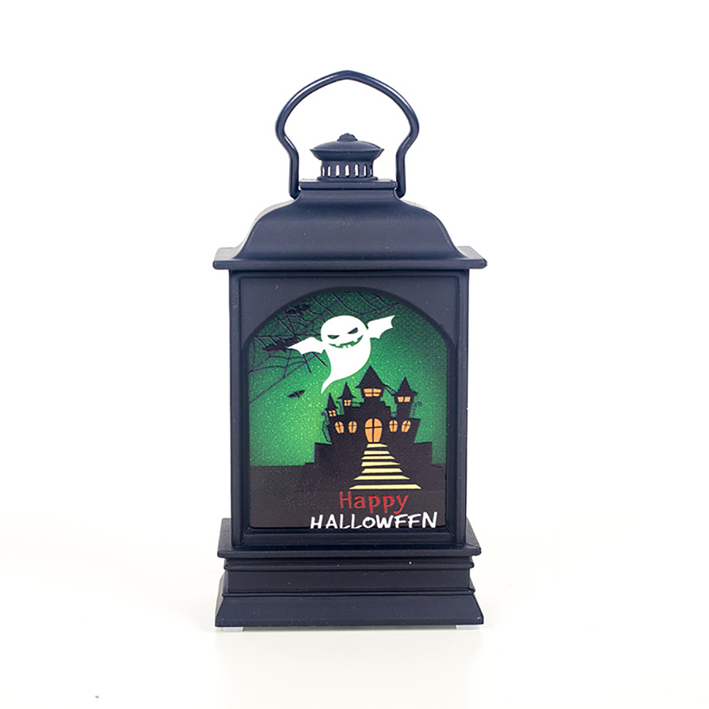 Halloween Decoration Colored Drawing Light Pendant Bar Desktop Decoration Layout Small Projects White ghost