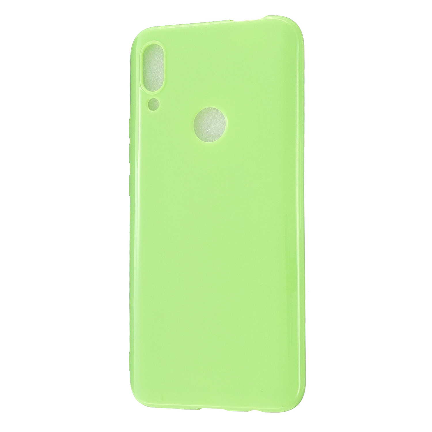 For HUAWEI Honor 10 Lite/P Smart/P Smart-Z 2019 Cellphone Shell Simple Profile Soft TPU Phone Case  Fluorescent green