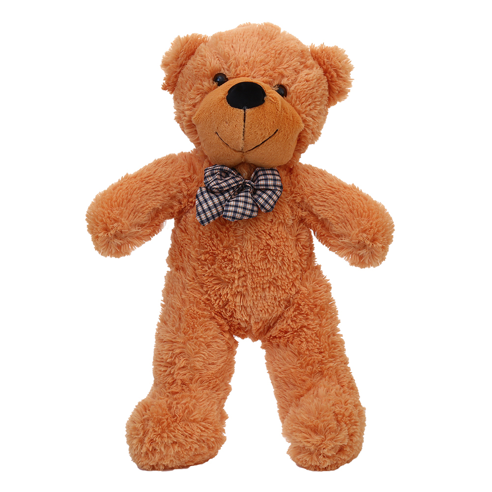 [EU Direct] Cuddly Stuffed Plush Teddy Bear Toy Animal Doll Light Brown 60CM