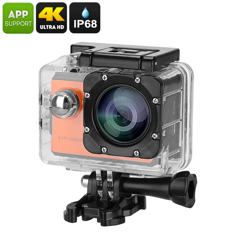 Explorer 2C Action Camera (Orange)