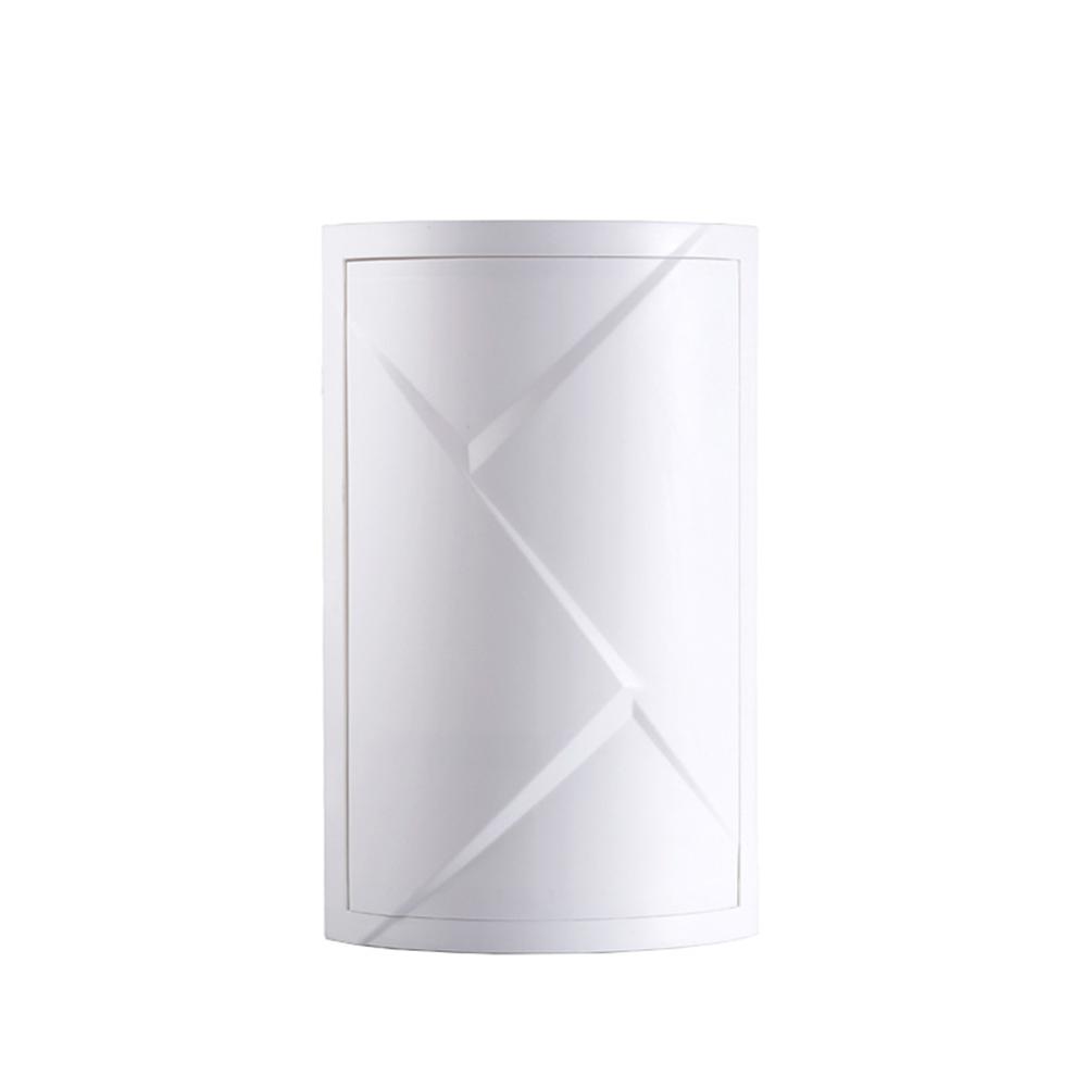 Bathroom 360 Degree Rotating Triangular Shelf Kitchen Toilet Corner Shelf Storage Rack White (medium)