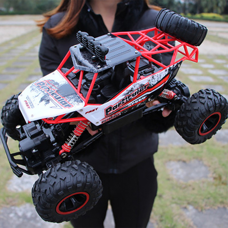 1:12 4WD RC Car Update 2.4G Radio Remote Control Car Toy High Speed Truck Off-road Toy red