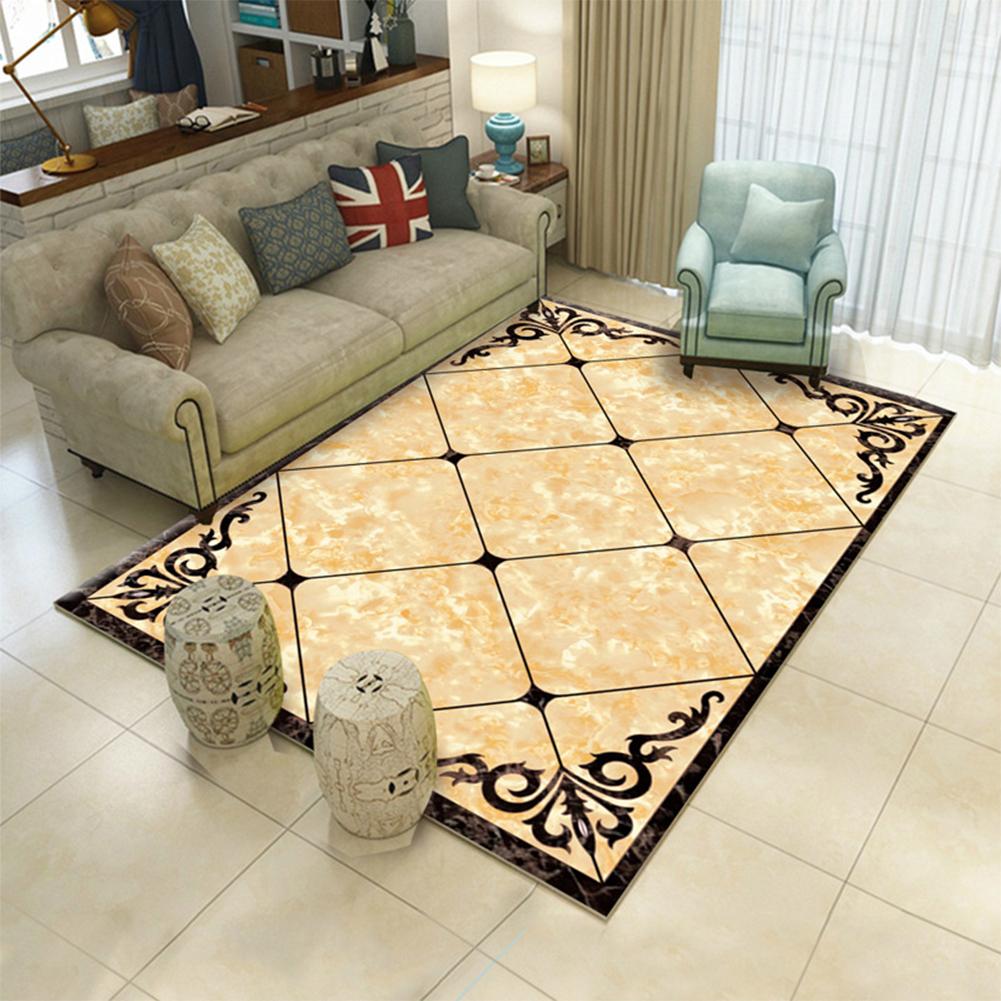 Modern Home Floor Mat Carpet for Living Room Bedroom Teatable Decoration Accessories 64_100 * 150 cm