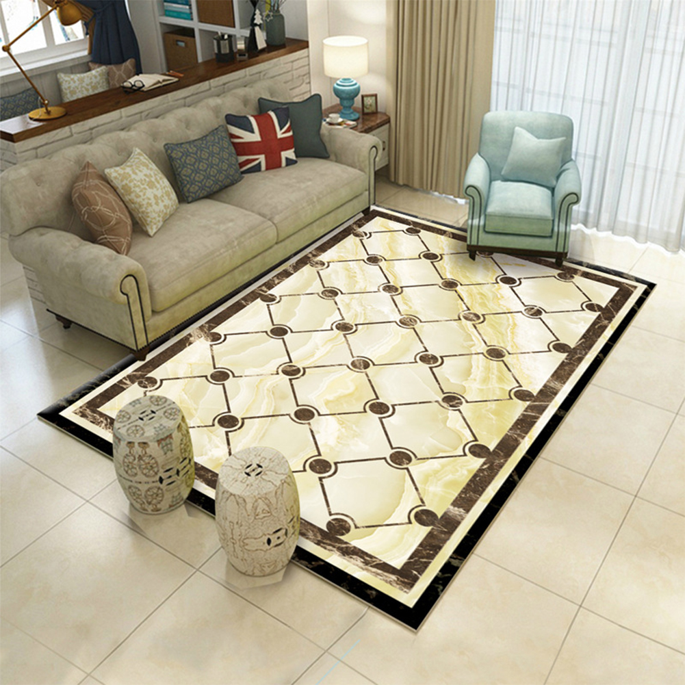 Modern Home Floor Mat Carpet for Living Room Bedroom Teatable Decoration Accessories 65_100 * 150 cm