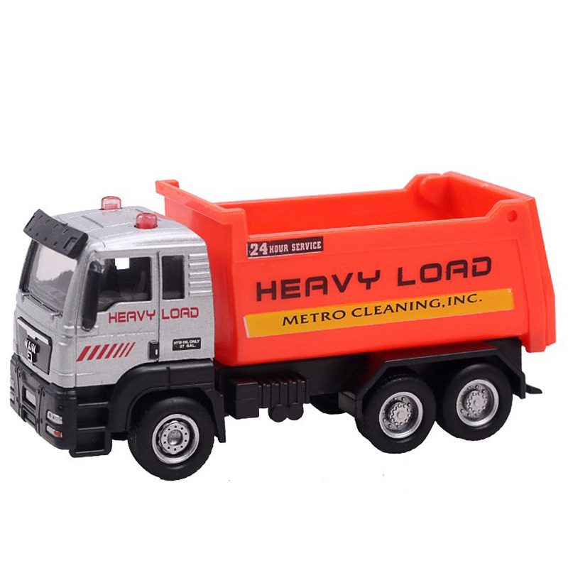 Friction Powered Alloy ABS Metal Car Model