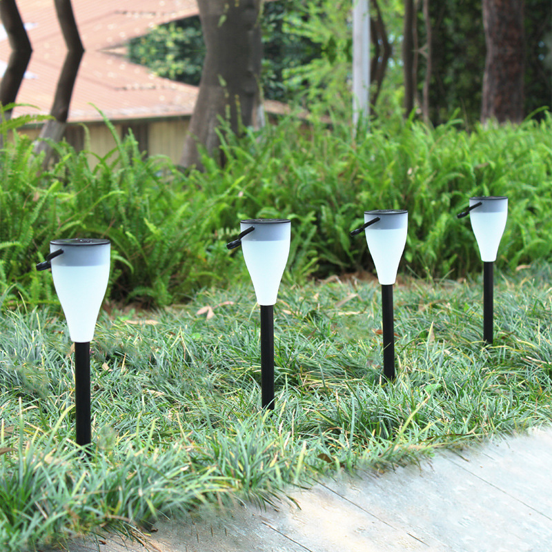 Color Changing Solar Lights, Waterproof Outdoor Garden Light with 7 Colors, 2 Modes LED Lamp for Yard, Path, Lawn and Landscape