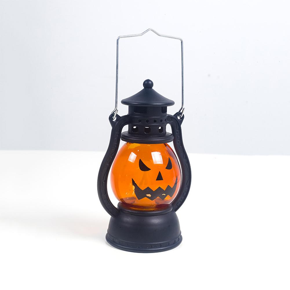 Creative Halloween Pumpkin Small Wind Lights Atmosphere Light Decoration Accessories A