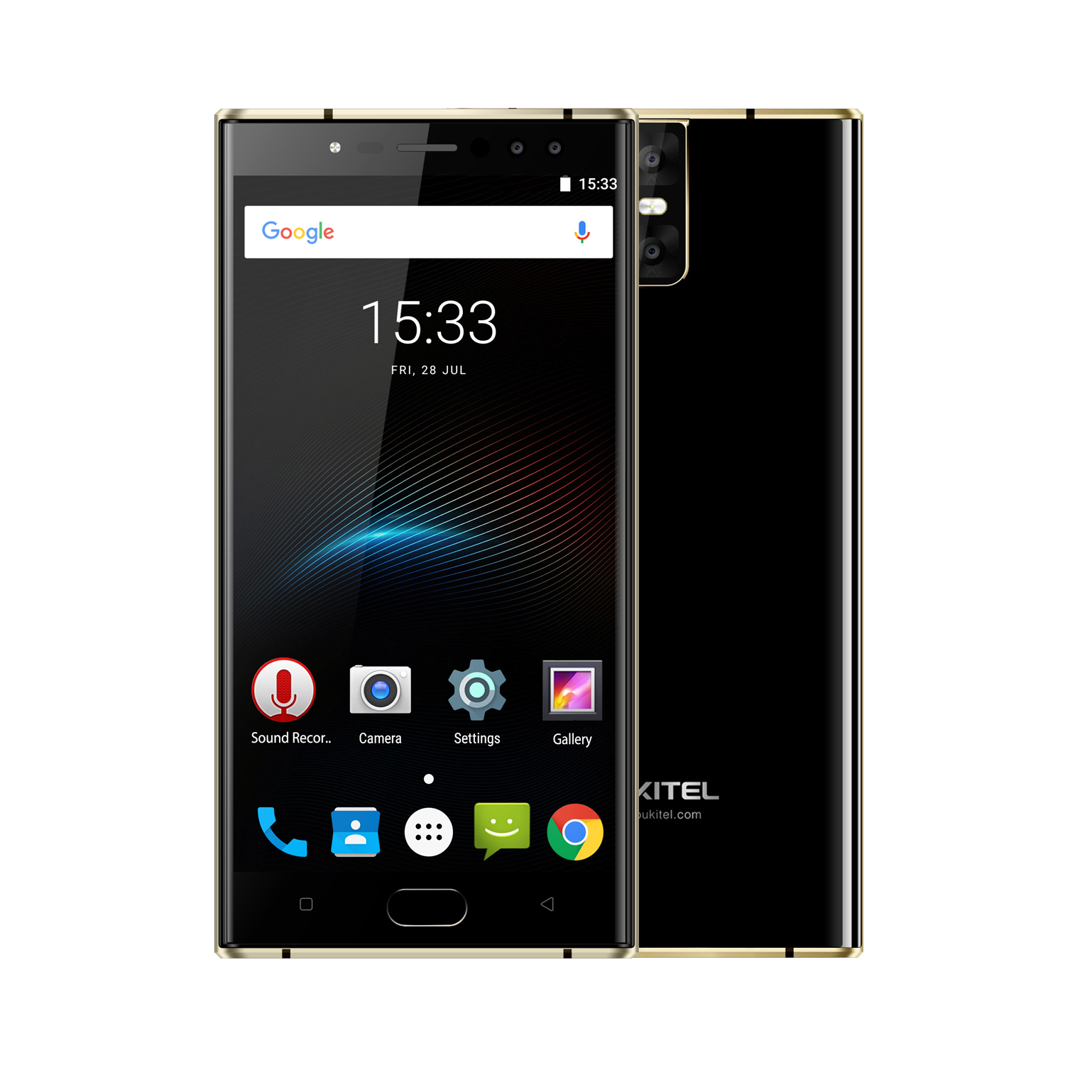 OUKITEL K3 5.5 Inch MT6750 Smart Phone Black