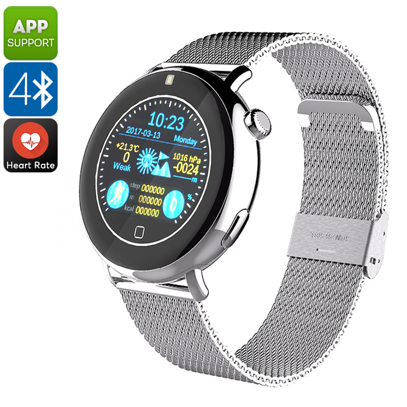 Bluetooth Smart Watch EXE C7 (Silver)