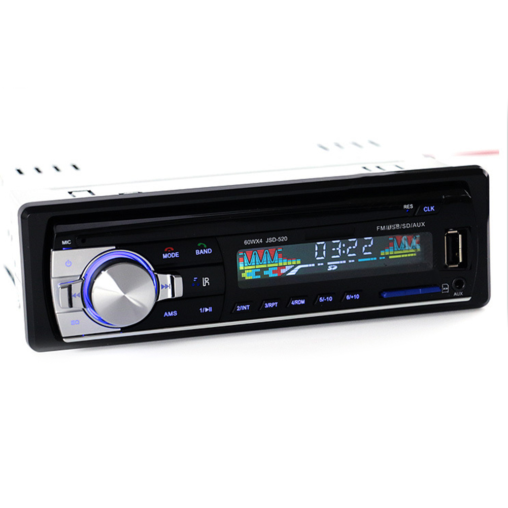Bluetooth Car Stereo Audio MP3 U Disk SD Card Player FM Aux Input Receiver with Remote Controller