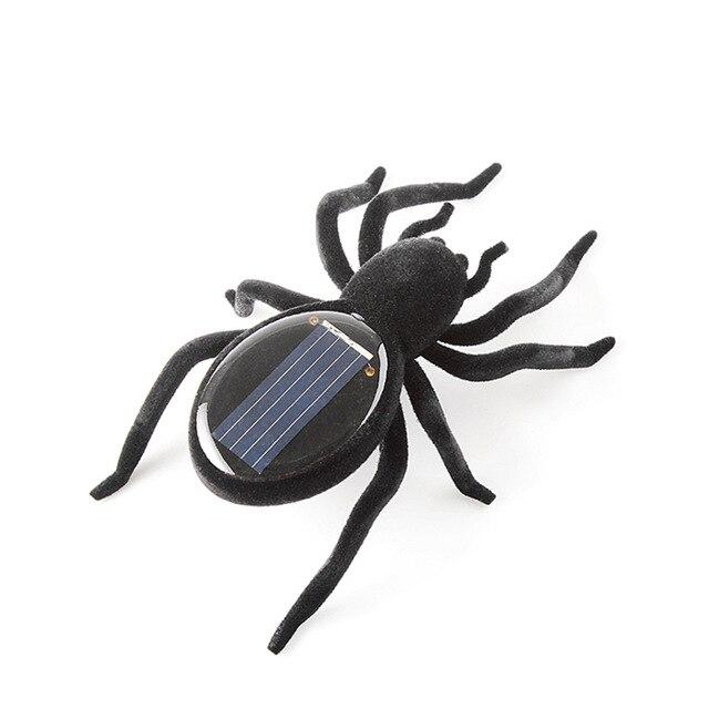 Mini Solar Toy Car / Grasshopper / Spider Solar Power Novelty Gag Toys for Kids