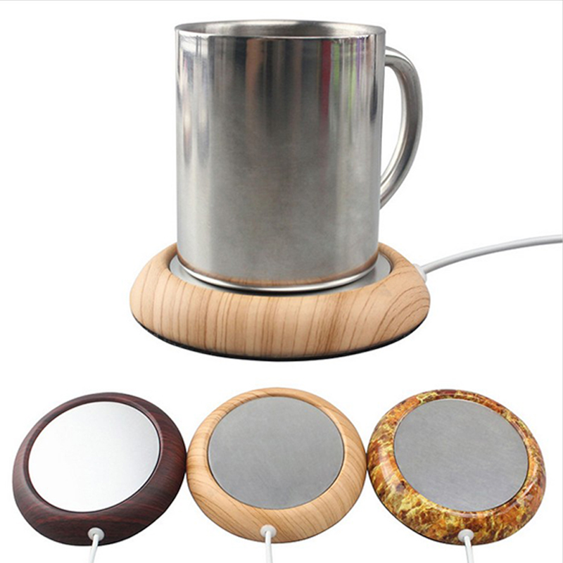 Portable USB Electric Cup Warmer Tea Coffee Beverage Heating Pad Mat Keep Drink Warm Heater