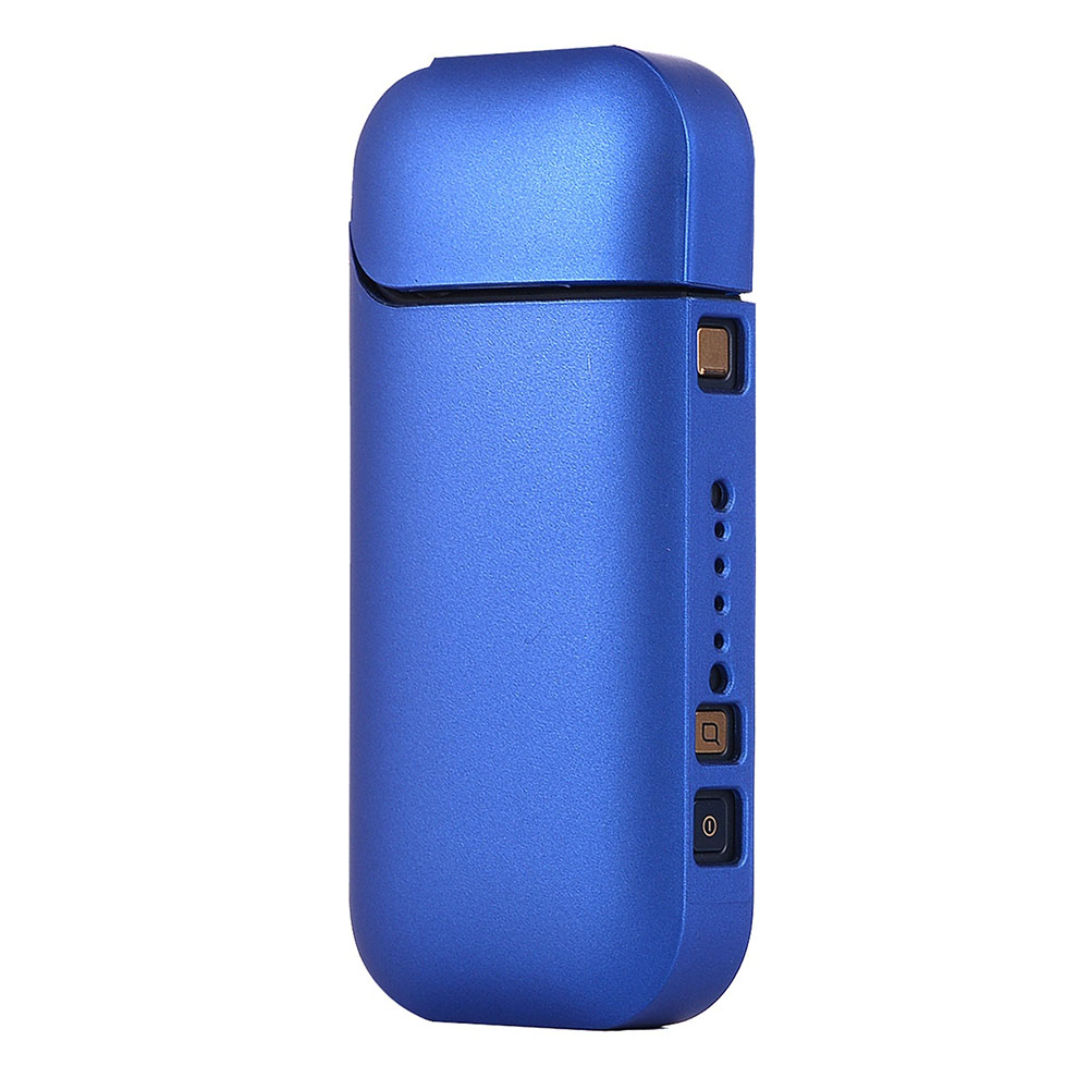 For IQOS Electronic Cigarette Fashion Ultra-thin Matte PC Case Holder Full Protective Case  sapphire