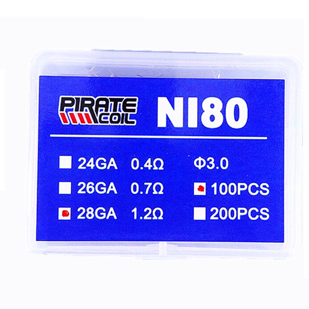DIY Large Smog NI80 Heating  Wire for E Cigarette 100 / box_24GA/0.4 ohm