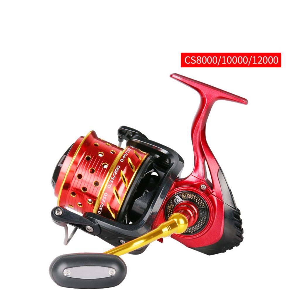 Cs8000/10000/12000 Fishing Reel Cnc Rocker Arm Spinning Wheel Fishing Accessories CS10000