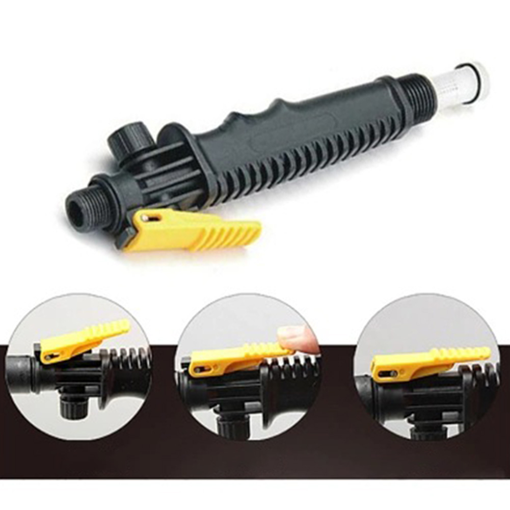 Car Cleaning Brush Tire Clean Tool Retractable Long Handle Car Wash Brush Water Foam Flow Brush Care Washer Handle switch
