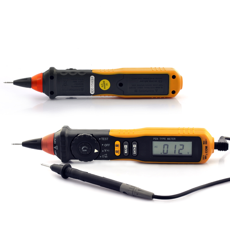 Pen Digital Multimeter CAT III 600V w/ NCV