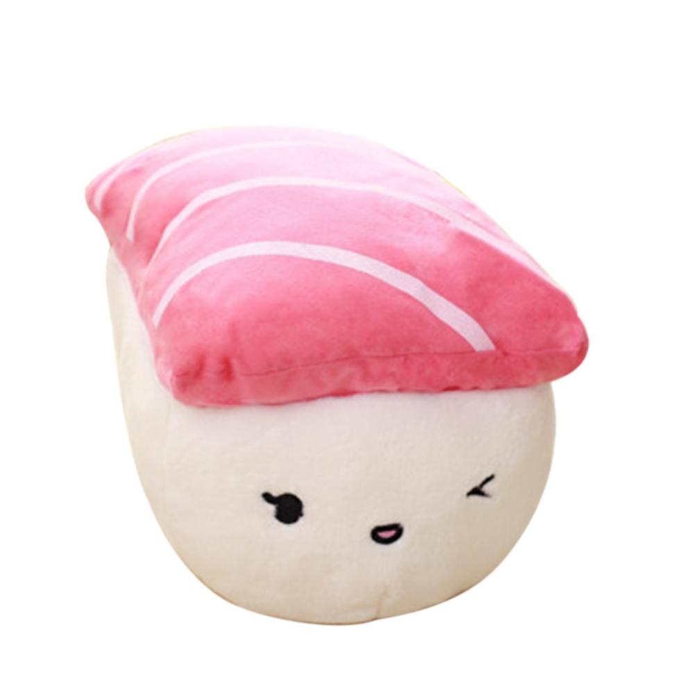 Creative Japan Sushi Shape Plush Toys Stuffed Soft Sofa Pillow Kawaii Cushion Simulation Food Doll Gift for Girls Kids Tuna sushi