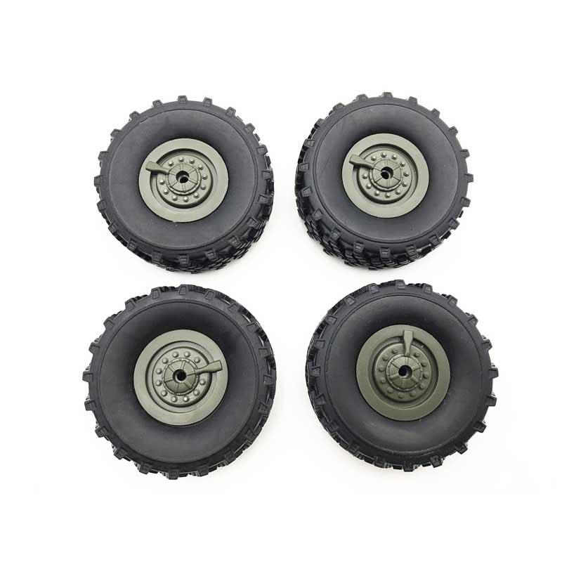 RC Car Tires /Battery/ Motor Applies To: 1:16 RC Car WPL Ural B36 B24 B16 C24 Remote Control Car Tire 4pcs