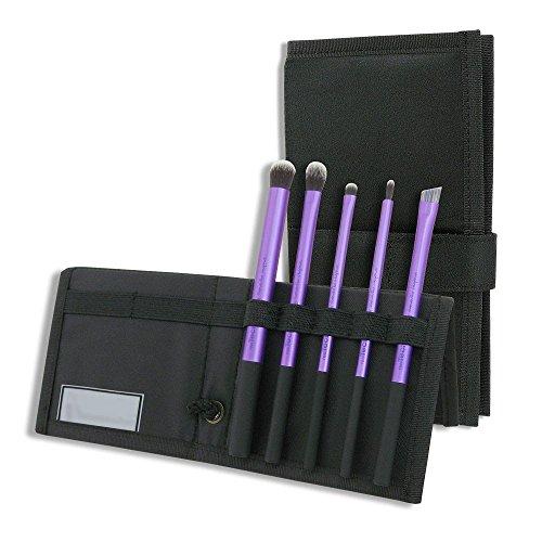 Aoile 5pcs Core Collection Set makeup brushes Purple