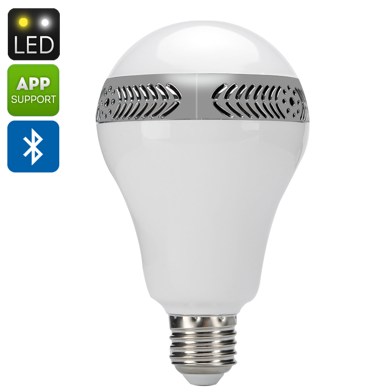 wholesale e27 led light bulb speaker from china