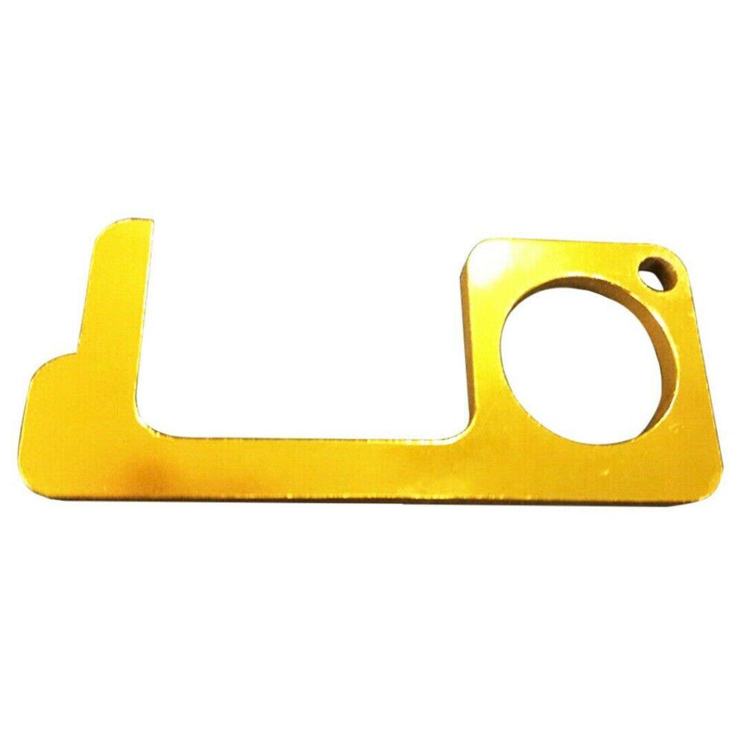 EDC Door Opener Brass Isolation Safety Door Opener Gold plating