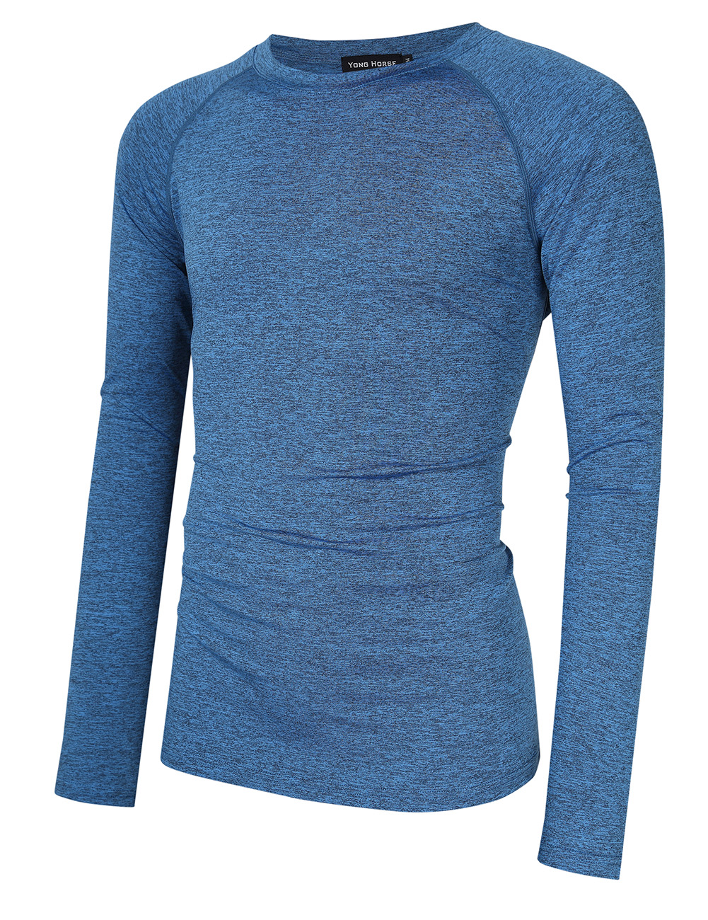 Yong Horse Men's Quick Dry Athletic Shirt