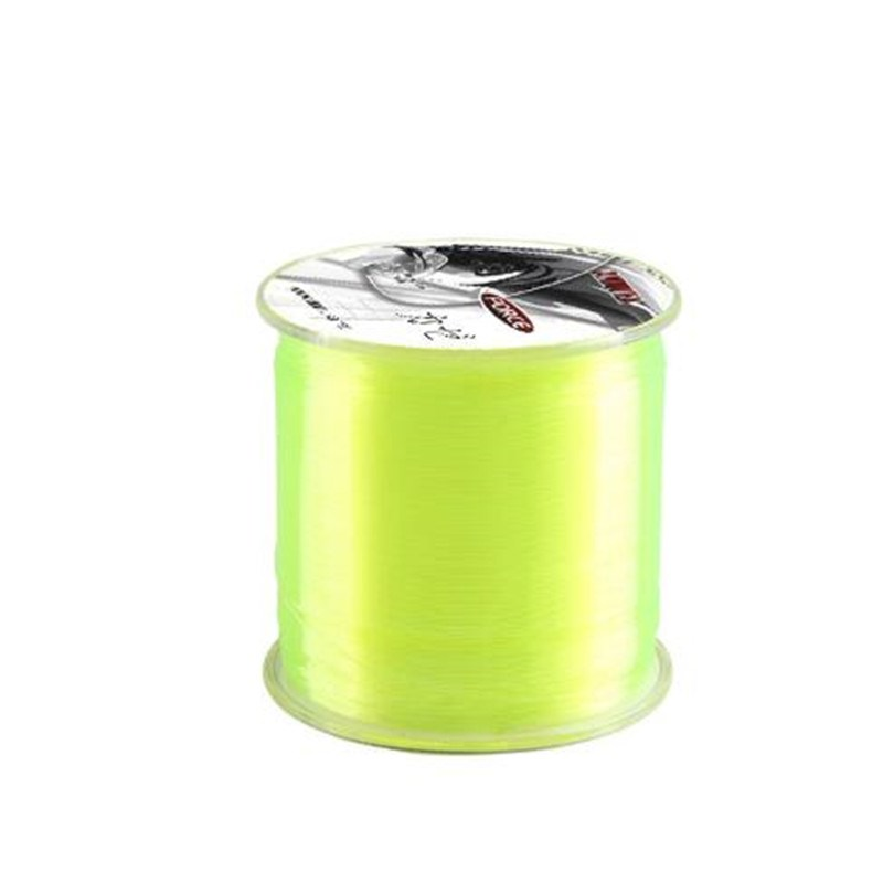 Multi-size 500m Super Strong Nylon Fishing Line Main Line Fly Fishing Accessory  PinkFK6D