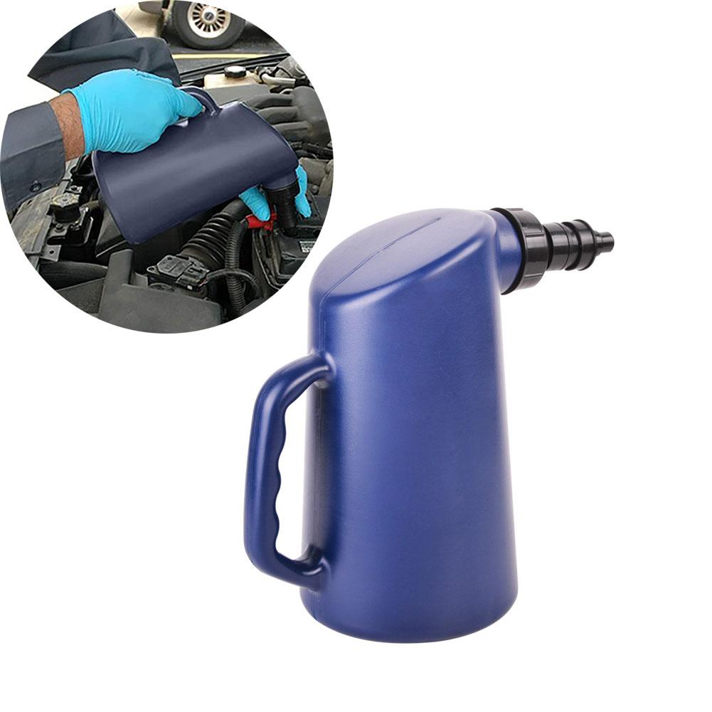 2l Car Battery Liquid Adding Pot Filler With Auto Shut Off And Drip-free Valve 2L