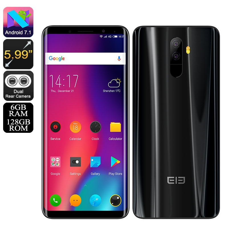 Elephone U Android 7.1 Black(6+128)