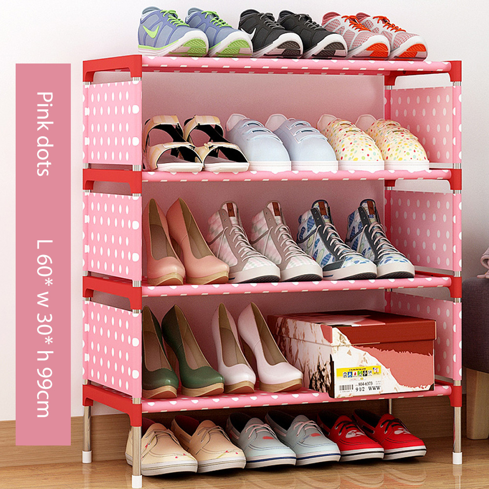 Dustproof Assemble Shoes Rack Simple Modern Home Breathable Storage Shelf  HBY05B