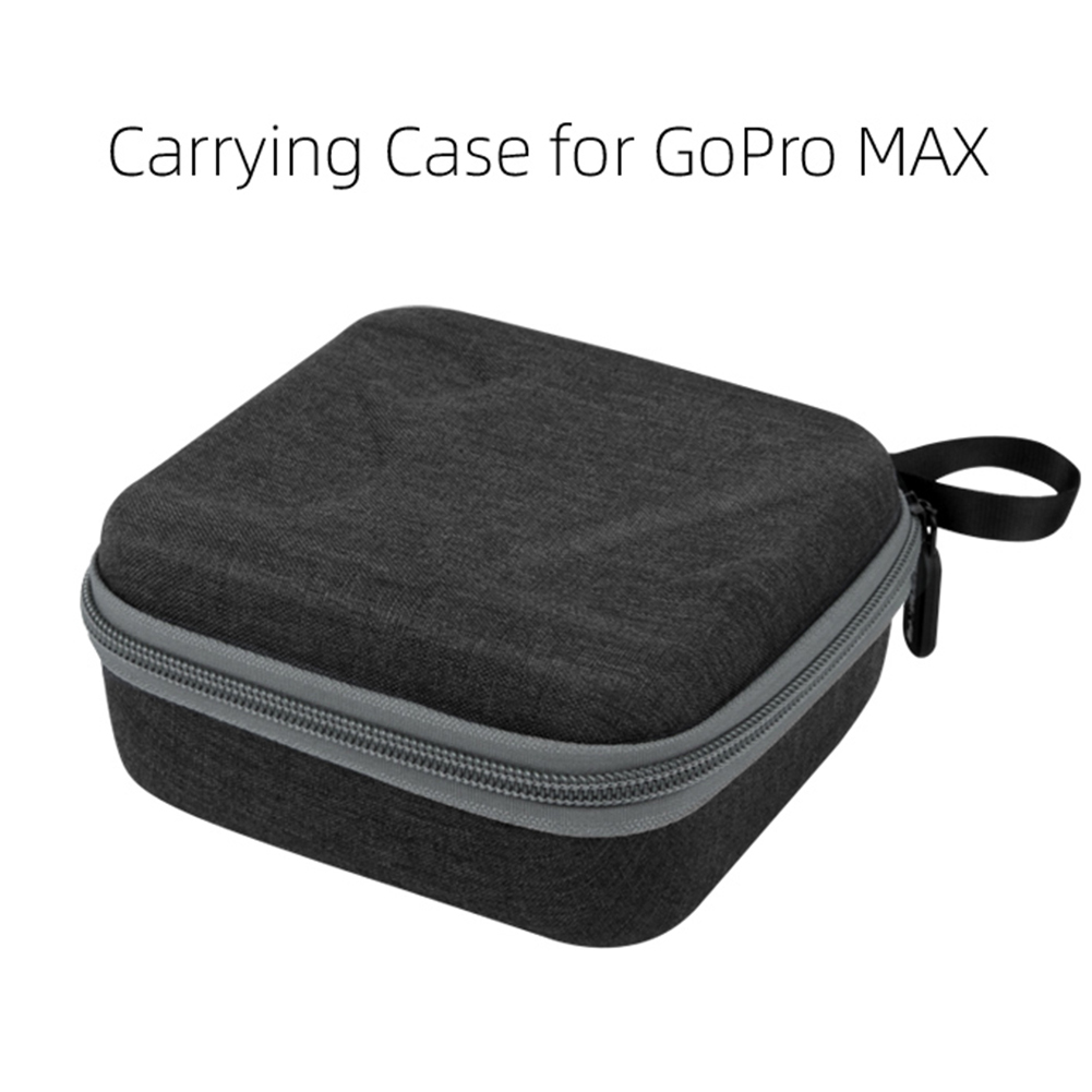 Portable Carrying Case Storage Bag for GoPro MAX Camera Accessories black