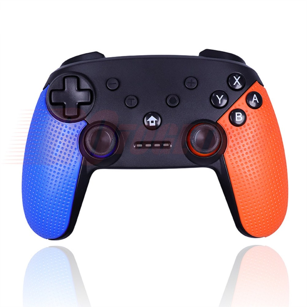 Switch Pro Wireless Bluetooth Game Hand Shank Left blue right orange