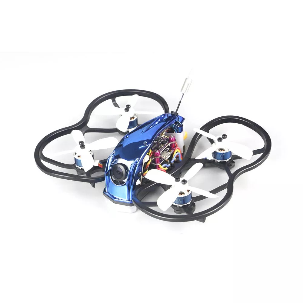 LDARC 90GTI-FPV 98mm 3S 2 Inch Whoop FPV Racing Drone BNF/PNP 4 FC OSD 20A Blheli_S Brushless ESC 200mW VTX 1200TVL Cam Without receiver