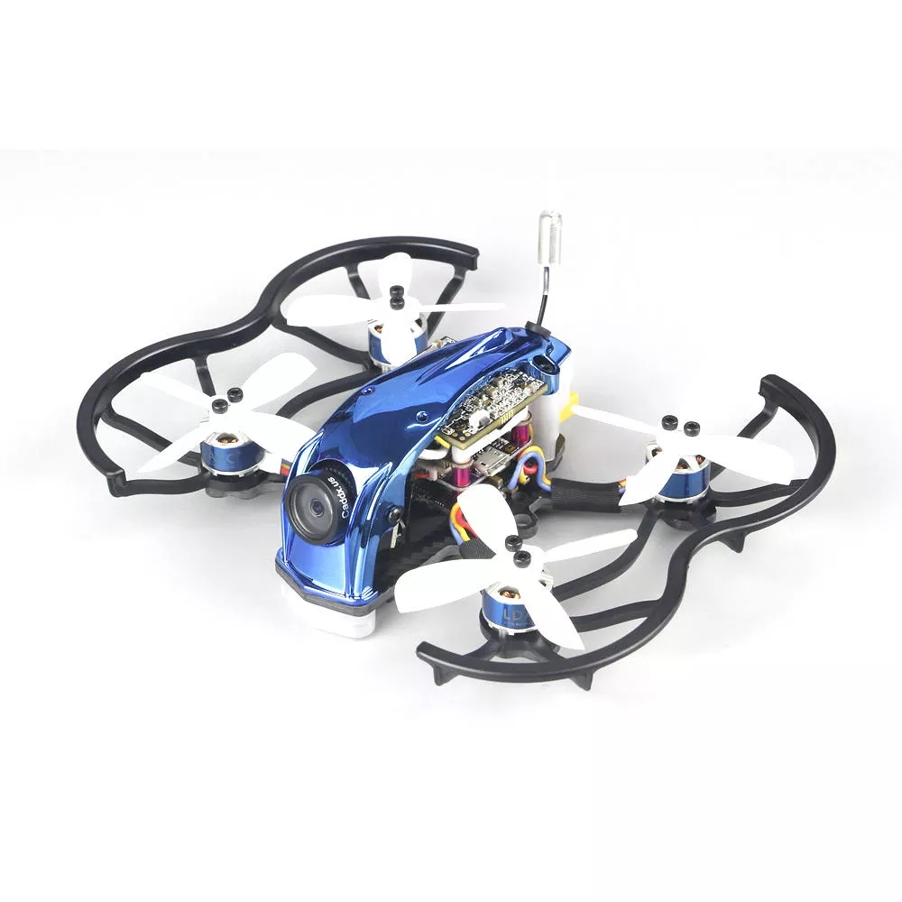 KINGKONG/LDARC 90GTI-HD 98mm 3S 2 Inch Whoop FPV Racing Drone BNF/PNP 4 FC OSD 20A Blheli_S Brushless ESC 200mW VTX 1080P DVR CADDX TURTLE V2 Cam Without receiver