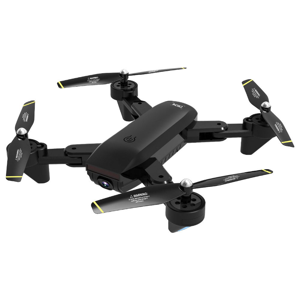 SG700-S RC Quadcopter with Camera 1080P Wifi FPV Foldable Selfie Drone Black black