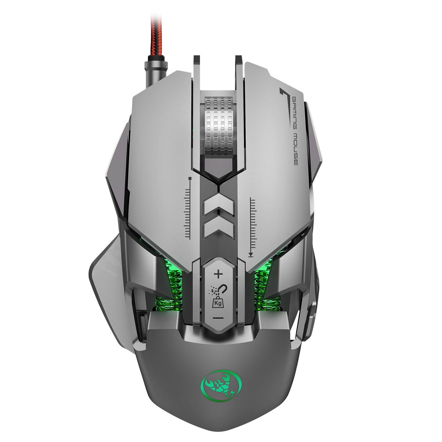 Mechanical Game Mouse J800 Luminous Adjustable Lighting Mouse DPI Max 6400 mouse