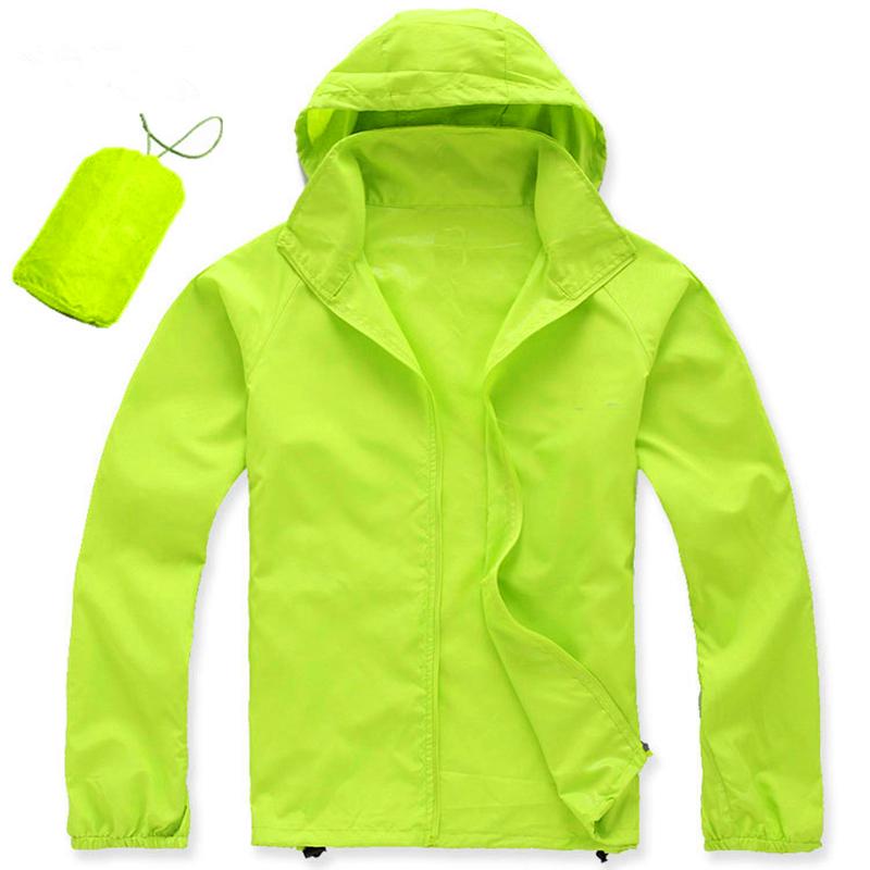 Ultrathin Sunproof Waterproof Windproof Sports Coat Outdoor Cycling Men Women Jacket