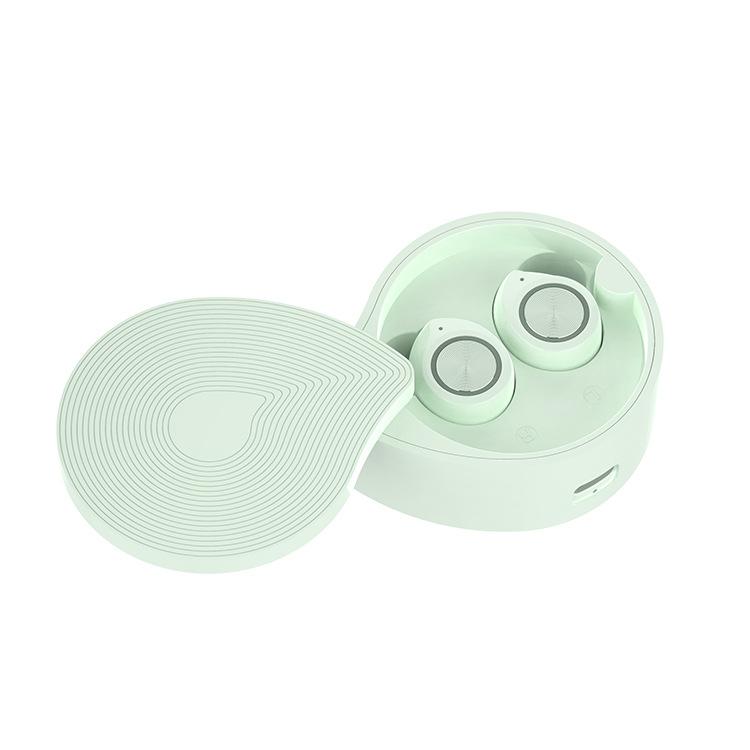 TW70 Earphones Bluetooth 5.0 TWS Wireless Headphones Bluetooth Earphone HIFI Stereo Sports Headphones Handsfree Gaming Headset green